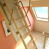 Чердачная лестница 70х130х305 FAKRO LWK Komfort тел.Whats App. +7(707)5705151, фото 2