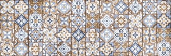 Кафель | Плитка настенная 20х60 Атлас | Atlas многоцветный