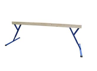 Бревно гимнастическое СТАНД-Т (13,5х16) регул. высота 5м