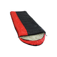 Спальный мешок Balmax (Аляска) Camping Plus series до -10 градусов Red/Black р-р L (левая)