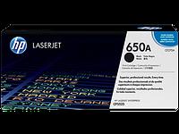 HP CE270A Картридж лазерный HP 650A черный, ресурс 13500 стр