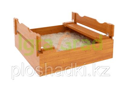 """Детская деревянная песочница IgraGrad """"Ладушки"""""""