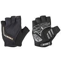 Велоперчатки STG AI-03-108, unisex black/gray Х81533-ХЛ р-р XL