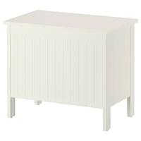 Скамья с ящиком, СИЛВЕРОН, белый ИКЕА, IKEA