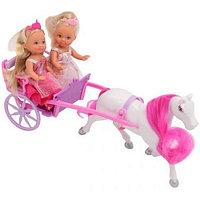 Игрушка Simba Две куклы Эви-принцессы +лошадь с каретой, 12 см 10 5736646