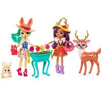 Кукла Enchantimals Подруги с любимыми зверюшками, 15 см, FDG01