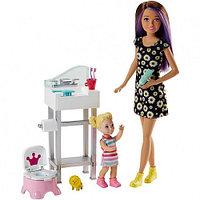 Набор Barbie Няня Скиппер, FJB01