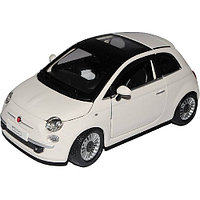 Модель автомобиля Bburago Фиат 500(2007) 18-22106 1:24