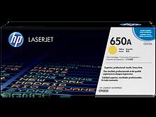 HP CE272A Картридж лазерный HP 650A желтый, ресурс 15000 стр.