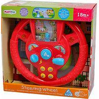 """Развивающая игрушка PlayGo """"Руль"""" (свет,звук,батарейки) 2456"""