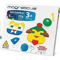 Мозаика Magneticus 3+, 174 элемента / 6 цветов / 30 этюдов MM-0174