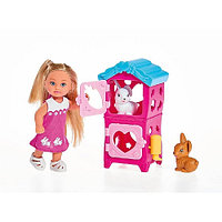 Кукла Simba Эви с кроликами 10 5733065