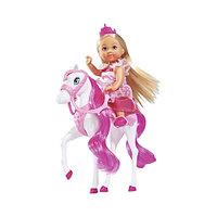 Кукла Simba Эви на лошади 10 5732833