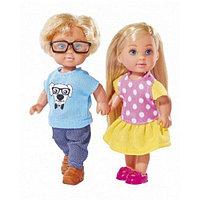 Кукла Simba Эви +Тимми, набор 12 см 10 5737113