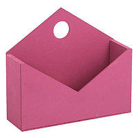 Ящик‒конверт № 1 бордо, 20,5 х 18 х 6 см