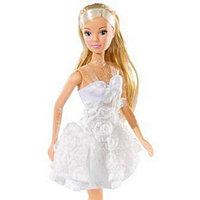 Кукла Simba Штеффи в белом летнем платье, 29 см, 10 5730662