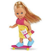 Кукла Simba Эви на скутере + скейт и собачка, 2 вида 10 5732295