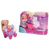 Куколка Simba Эви с коляской, малышом и акс 2 вида 10 5736241