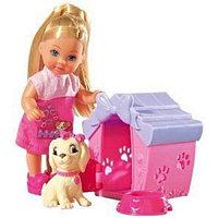Кукла Simba Эви с песиком и домиком, 12 см 10 5735867