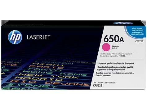 HP CE273A Картридж лазерный HP 650A пурпурный, ресурс 15000 стр