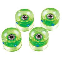 Набор колес для пенниборда с подсветкой Atemi AW-18.04 green