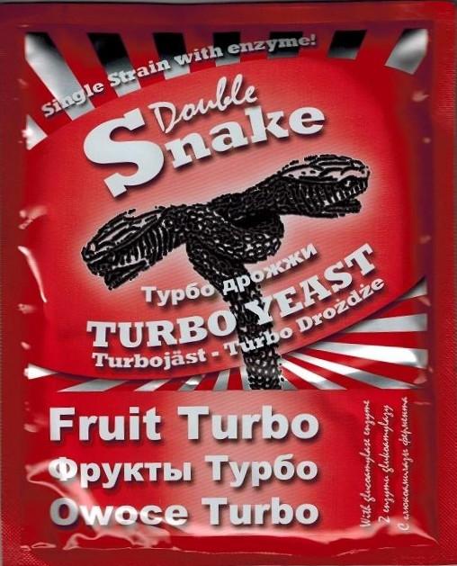 "Спиртовые дрожжи DoubleSnake ""Fruit Turbo"", 50 г"