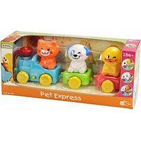 Игрушка PlayGo Экспресс с домашними животными 2815