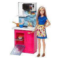 Набор Barbie Роскошная кухня, 28 см, DVX54