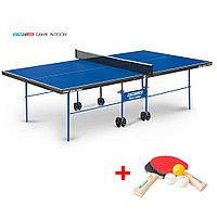 Теннисный стол Game Indoor - любительский стол для использования в помещениях с сеткой, фото 1