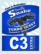 "Спиртовые дрожжи DoubleSnake ""C3 Turbo"", 90 г"