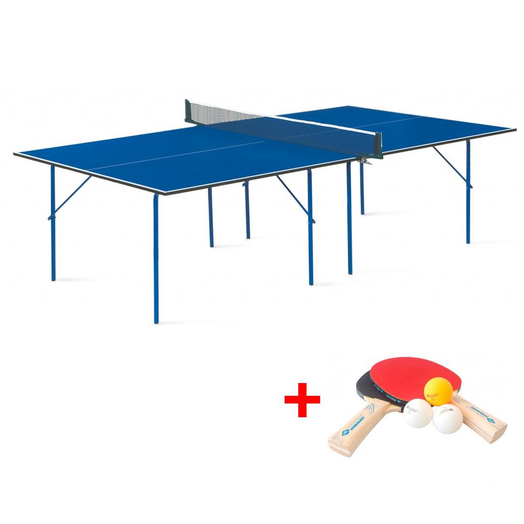 Теннисный стол Hobby Light - облегченная модель теннисного стола для использования в помещениях