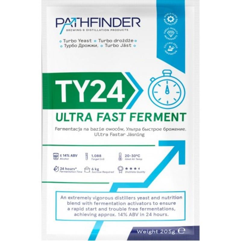 "Спиртовые дрожжи Pathfinder ""24 Ultra Fast Ferment"", 205 г"
