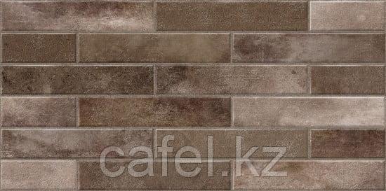 Керамогранит 30х60 - Брикс   Bricks коричневый