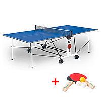 Теннисный стол Compact Light LX - усовершенствованная модель стола для использования в помещениях с сеткой