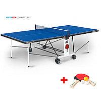 Теннисный стол Compact LX - усовершенствованная модель стола для использования в помещениях с сеткой, фото 1