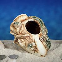 """Декорация для аквариума """"Амфора'', 8 х 12 х 9 см, микс"""