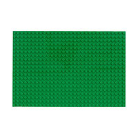 Пластина-основание для конструктора, 16 х 24 см, цвет зелёный