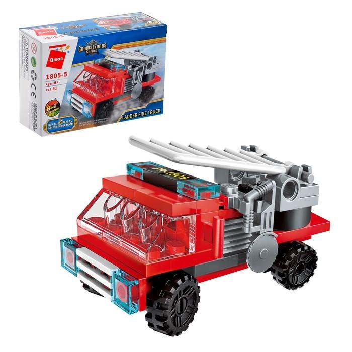 Конструктор Пожарные «Транспорт», 8 видов МИКС - фото 6