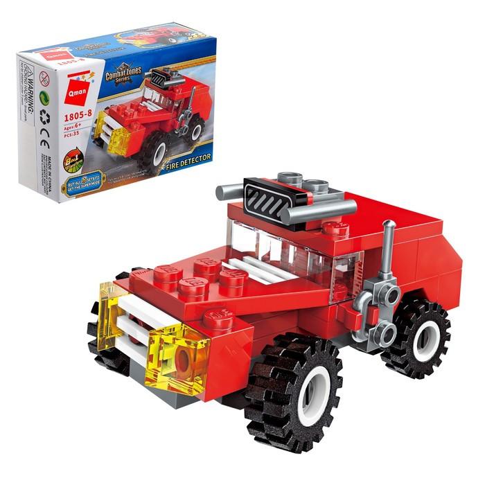 Конструктор Пожарные «Транспорт», 8 видов МИКС - фото 9