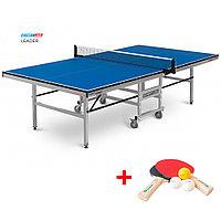 Теннисный стол Leader - подходит для игры в помещении, идеален для тренировок и соревнований