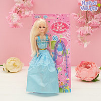 Кукла на подложке с аксессуарами «С днём рождения!», МИКС