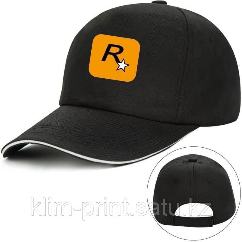 Кепки с логотипом компании купить, черного  цвета