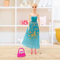 Кукла модель «Лиза» в платье, с аксессуарами, МИКС