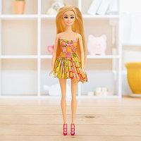 Кукла-модель «Рита» в платье, МИКС