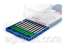 Вольфрамовый электрод WP 2.4х175 зелёный (ABICOR BINZEL®)