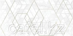 Кафель   Плитка настенная  30х60 - Калакатта   Calacatta вставка геометрия