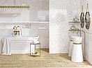Кафель | Плитка настенная  30х60 - Калакатта | Calacatta белый рельеф, фото 3