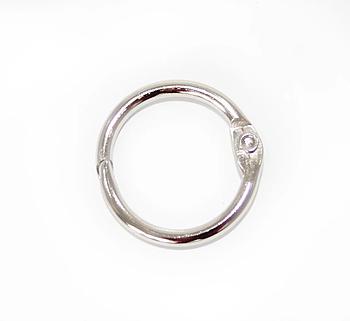 Металлическое кольцо с фиксатором 20мм