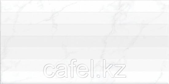 Кафель | Плитка настенная  30х60 - Калакатта | Calacatta белый рельеф