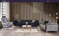 Комплект мягкой мебели ZEN(диван+ 2 кресла)